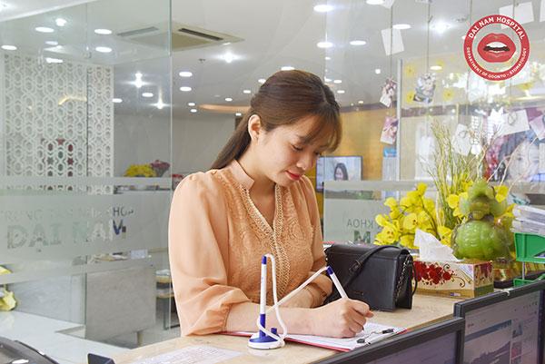 ghi nhận thông tin khách hàng