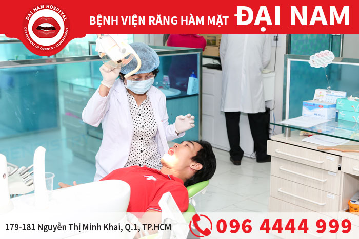 Thăm khám răng miệng định kì tại Bệnh viện Đại Nam
