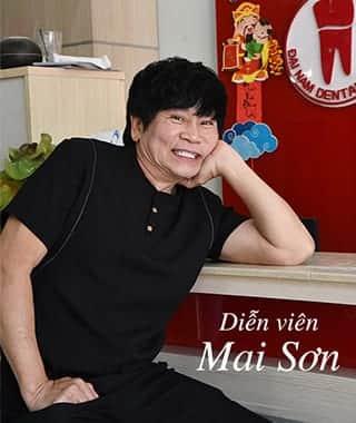 Diễn viên Mai Sơn